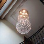 montaż lampy